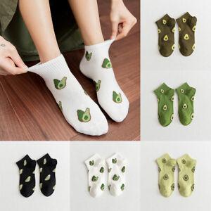 Women's Cartoon Socks Casual Winter Warm Fruit Socks Cotton Streetwear PeachSock