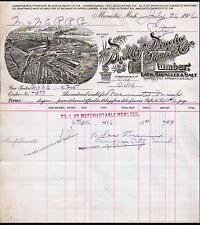 1916 Manistee Michigan - Buckley Douglas Lumber - Lath Shingles Salt Letter Head