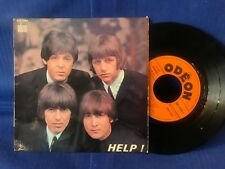 THE BEATLES EP HELP SOE 3769 ORIG FRANCE EXC-
