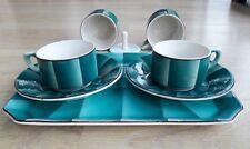 Rare Design, vintage, original: duo tasses pour café italien faïence S.A.RICHARD