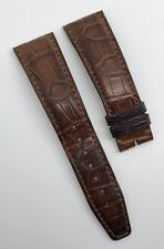 Authentic IWC 22mm x 18mm Brown Alligator Watch Strap Band A12726 OEM