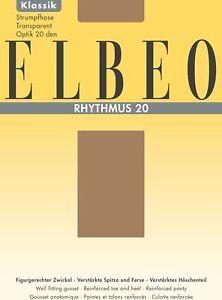 Elbeo Rhythmus 20 Sheer Tights 20den - Size 6 (52-54)