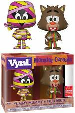 Funko Vynl Yummy Mummy Fruit Brute 2 Pack Monster Cereals 2018 Summer Convention