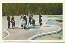 Postcard - Handkerchief Pool - Yellowstone. Unposted. J E Haynes