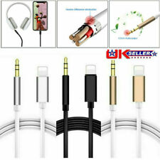 Lightning to 3.5mm Male Jack Car AUX Audio Music Adapter Cable iPhone 7 8 XS 11