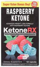 INTRAMEDIC 120 Capsules KETONERX Weight Loss Formula RASPBERRY KETONE Exp. 2/18+
