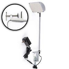 12 Watt Display 156-LED Light Adjustable Flood Light Spotlight Trade Show Silver