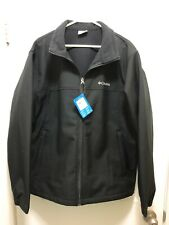 NWT $115.00 Columbia Mens Bowen Lake Softshell Black Size XL