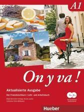 On y va ! A1 Aktualisierte Ausgabe. Lehr- und Arbeitsbuch mit komplettem