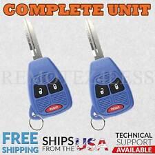 2 For 2007 2008 2009 2010 2011 2012 2013 2014 2015 2016 Wrangler Remote 3b Blue