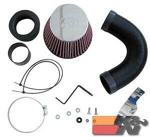 K&N Air Intake System For CITROEN XSARA L4-1.6L F/I, 2000-2005 57-0497