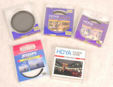Hoya 55mm Filter Set (All Mint in Box) Circular Polarizer, Star 8, 81A, 81B, UV