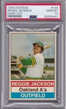 1976 Hostess #146 REGGIE JACKSON (HOF) PSA 10 GEM MINT Oakland A'S  - tough!