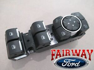 15 thru 20 F-150 OEM Ford Power Window Switch for Power Fold Trailer Tow Mirrors
