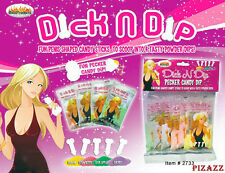 Dick N Dip, 5 Adult Candy Sticks in to 4 Tasty Flavors Powder Dips