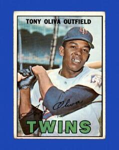 1967 Topps Set Break # 50 Tony Oliva VG-VGEX *GMCARDS*