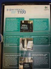 e Logitech Harmony 1100 Touch Screen LCD Universal Advanced Remote Control