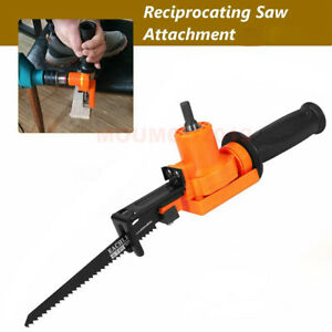For Electric Drill Wood Metal Cutting Reciprocating Saw Attachment Adapter Blade