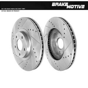 Front Brake Rotors For INFINITI FX35 FX45 NISSAN ALTIMA SE-R MAXIMA MURANO