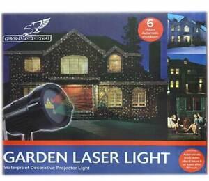 NEW WATERPROOF GARDEN LASER LIGHT PROJECTOR LAMP PARTY CHRISTMAS WINTER FAIRY