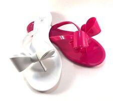 f5de44968 Dizzy Lounge Jelly Flat Thong Flip Flops Choose Sz Color