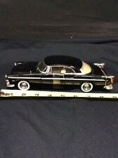 1955 Chrysler C300 Black 1/24 Diecast Model Car by Motormax  No Box #73302