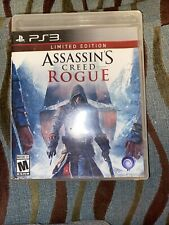 Assassins Creed Rouge ps3 Limited Edition Free Shipping