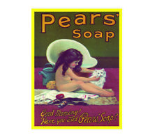Good morning have you used Pears soap metal wall plaque sign brand new