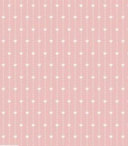 HALF METRE - 100% cotton fabric, Wedding theme/heart Fabric,