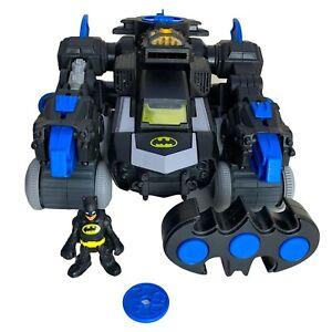 Batman Imaginext Electronic Remote Control Transforming Bat Bot TESTED & WORKING