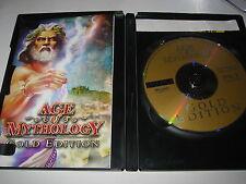 PC CD-ROM AGE OF MYTHOLOGY GOLD EDITION