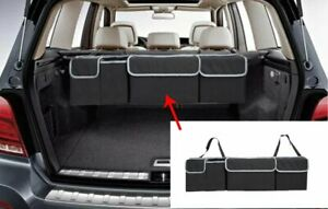 Storage Backseat Trunk Organizer Hanging Seat Back Bag for Car Vehicles Black