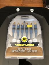 Acoustic Research Audio Cable 6 ft 6 Lines S-Video Stereo Audio cable