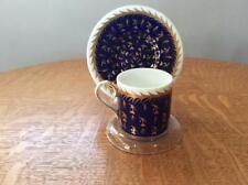 Wedgwood St. James bone china demitasse cup and saucer S368 brown mark