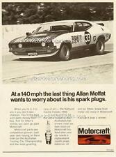 1974 ALLAN MOFFAT XB FALCON BRUT 33 A5 DISPLAY CARD BROCHURE BIANTE 1:18 DIORAMA