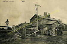 Flaxton Railway Station Photo. Strensall - Barton Hill. York to Malton Line (2)