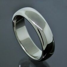 Tiffany & Co. 1999 Platinum PT950 6MM Wide Wedding Band Ring Size 9