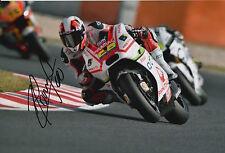 Yonny Hernandez Hand Signed Pramac Ducati 12x8 Photo 2015 MotoGP 1.