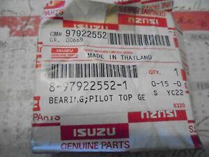 Pilot Bearing Genuine New Isuzu 8-97922552-1