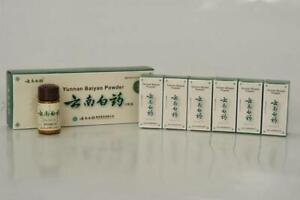 6 x 4g Bottles of Yun Nan Powder Bai yao Chinese Medicine UK Dispatch!