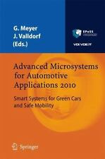 Advanced Microsystems For Automotive Applications 2010: Smart Systems For Gre...