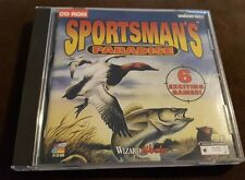 Sportsman's Paradise PC CD fishing hunting fish gun game Duck Hunt 2 Prairie Dog