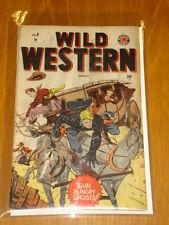 WILD WESTERN #6 VG (4.0) MARVEL ATLAS BLAZE CARSON 1949