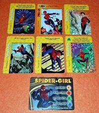 OVERPOWER Spider-Girl SET hero X-Men 5 sp 1 Marvels Mayday Wall Walker