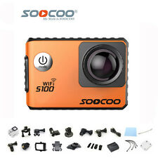SOOCOO S100 4K Mini Wifi Action Cam Gyro Stabilizer 30m Waterproof Diving Camera