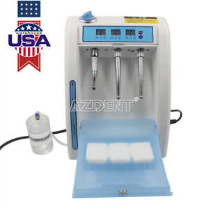 UPS Dental Handpiece Lubrication System Lubricant Clean Refueling Oil Machine