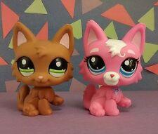 Littlest Pet Shop Persian Cat Lot #2440 & #3561