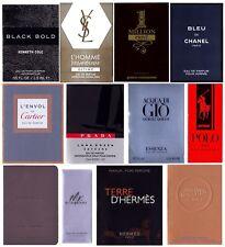 Eau De Parfum Mens Cologne Samples Chanel Prada Hermes Armani JPG Burberry YSL