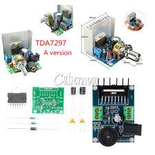TDA7297 2x15W 2-CH Amplificador Estéreo Digital de Audio Placa Módulo de aire acondicionado/Corriente Directa 6-18 V 12 V