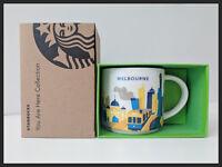 Starbucks Australia - Melbourne 'You Are Here' (YAH) 14oz Ceramic Collectors Mug